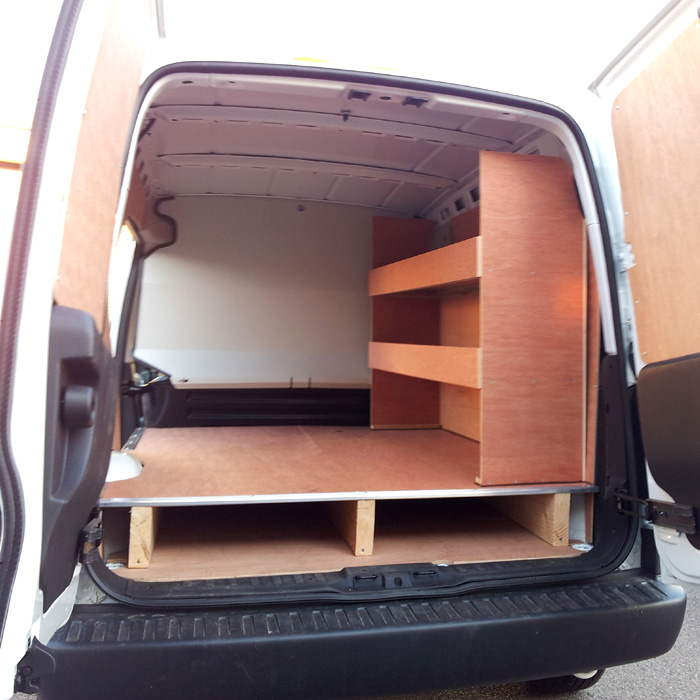 Van Internal Shelving and Racking Solutions